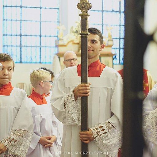 Modlitwa różańcowa w katedrze