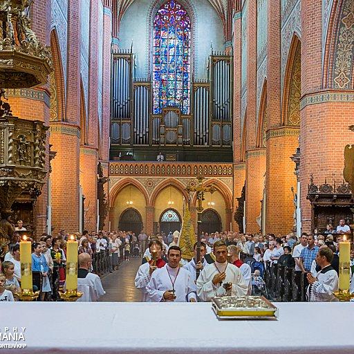 Suma odpustowa w Pelplińskiej Katedrze