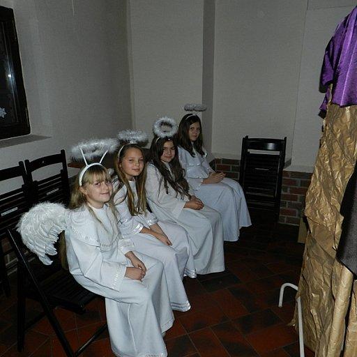 Spotkanie świąteczne świetlicy parafialnej