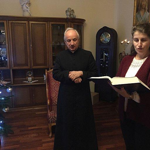 Opłatek rad parafialnych