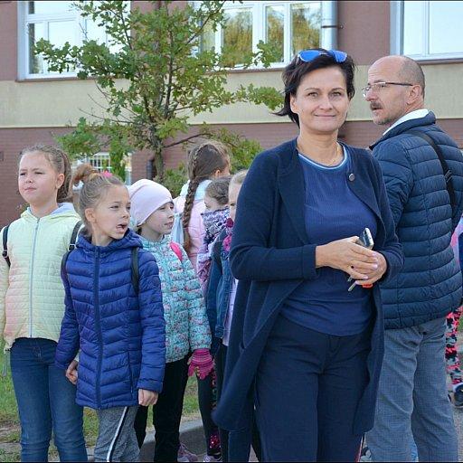 Pielgrzymka dzieci do Piaseczna