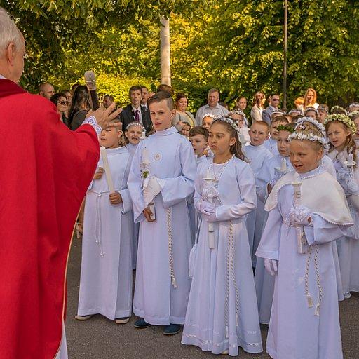 I Komunia św. dzieci z ZKiW nr 1