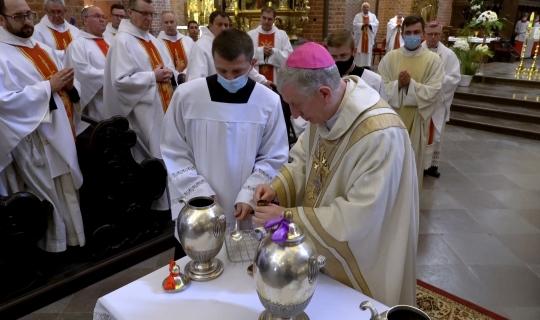 Msza Krzyżma w pelplińskiej katedrze