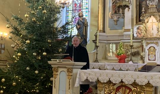 Kolęda dekanalna z Księdzem Biskupem