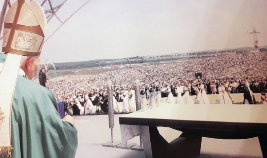 22 lata temu św. Jan Paweł II odwiedził Pelplin